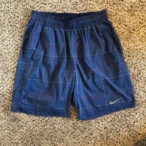 NIKE Athletic Dri Fit Men's Shorts Size Large